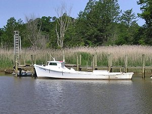 Boat on the York River